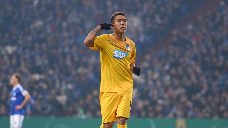 Roberto Firmino: Agreed a new deal with Hoffenheim