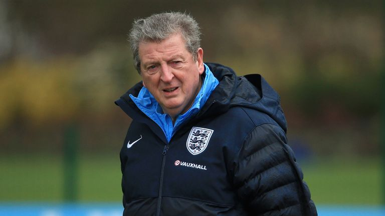 Roy Hodgson: Will not adopt a safety-first approach