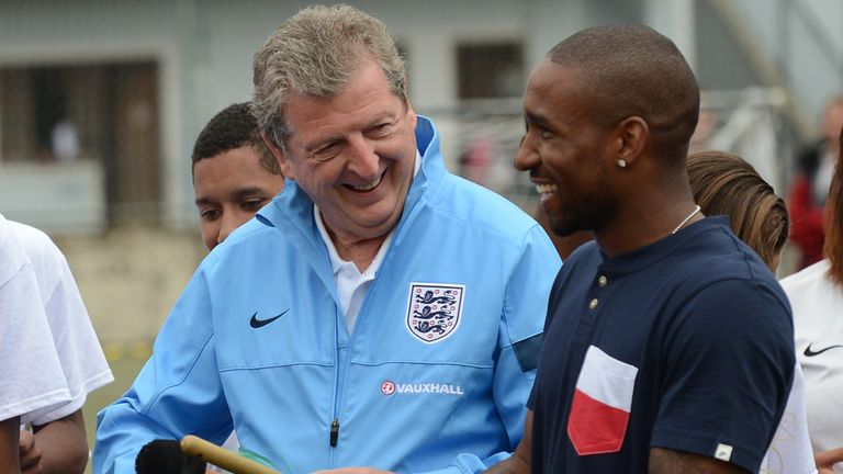 Roy Hodgson left Defoe out of England's last World Cup squad in 2014