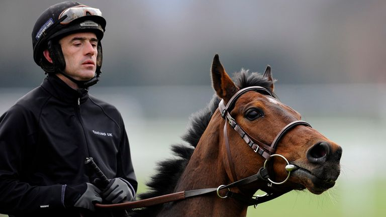Ruby Walsh and Hurricane Fly at Cheltenham on Monday