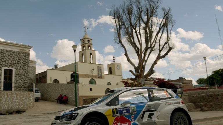 Sebastien Ogier: Won again in Mexico