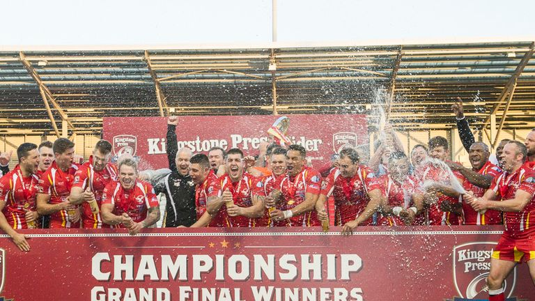 2013 Championship Grand Final winners Sheffield