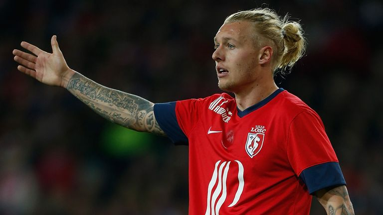 Simon Kjaer: Also on target for Lille