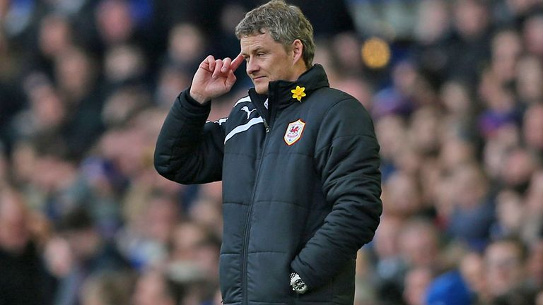 Ole Gunnar Solskjaer: The Cardiff boss says his future remains at the Welsh club