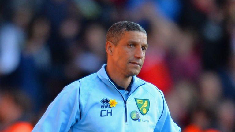 Chris Hughton: Norwich boss blamed lack of consistency for his changes