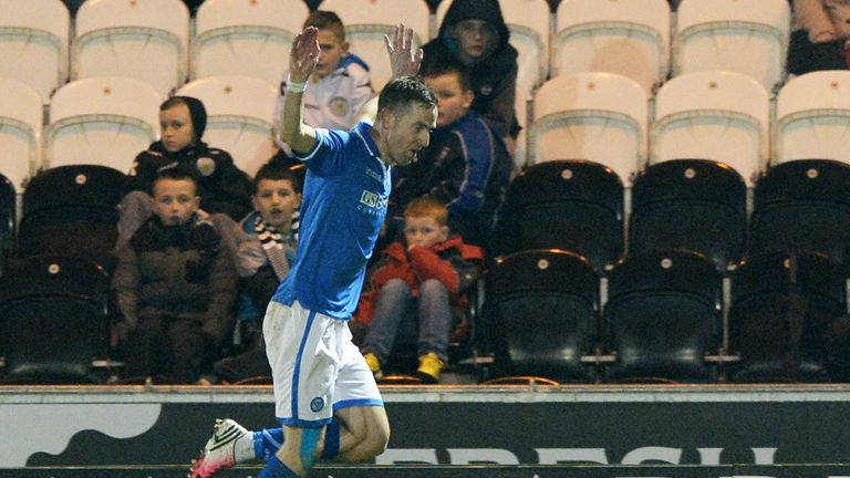 Steven Maclean: Netted late winner for St Johnstone against Aberdeen