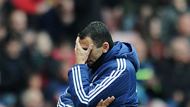 Gus Poyet: Pleased with effort