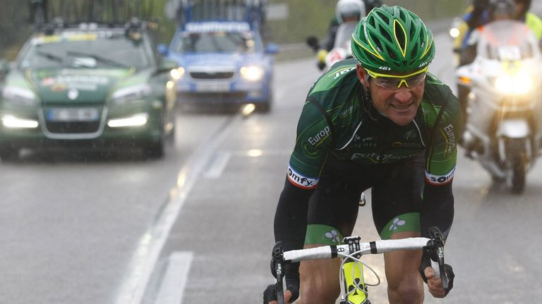 Thomas Voeckler is traditionally one of the most attacking riders at the Tour de France