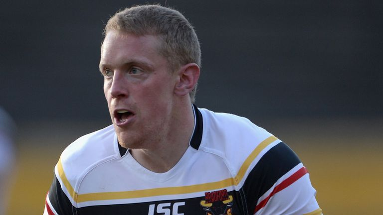 Bradford:Tom Olbison signs a new deal with the relegated Bulls.