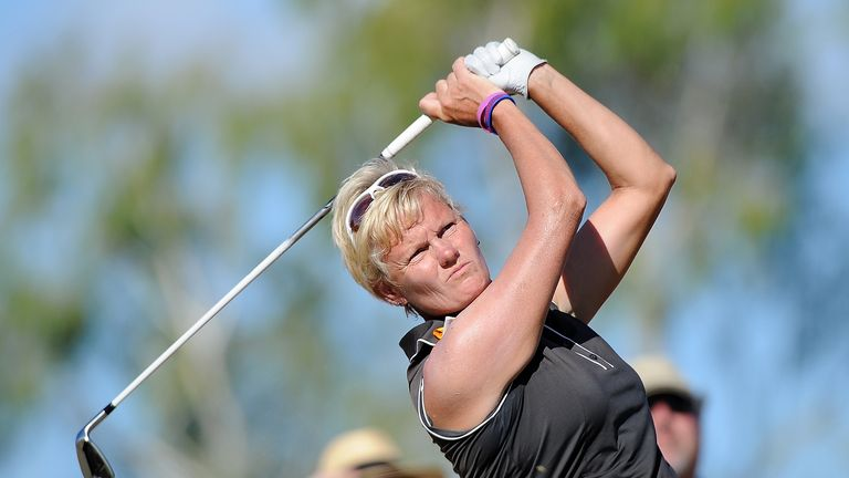 Trish Johnson: In contention after the first round of action in China