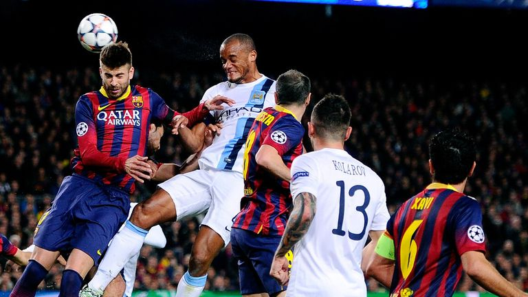 Kompany: Was unable to shut out Barcelona on Wednesday