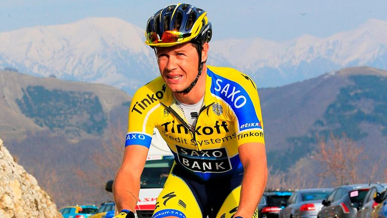 Nicolas Roche is the third member of his family to win the Route du Sud