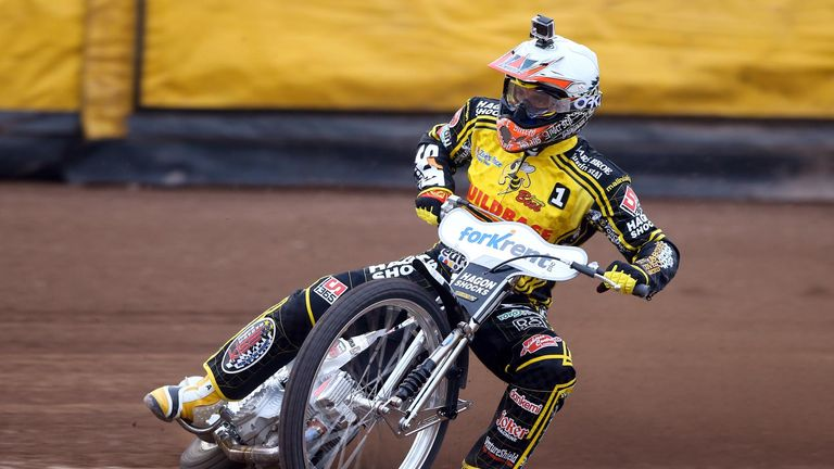 Hans Andersen: Has returned to Coventry Bees (Picture credit Jeff Davies)
