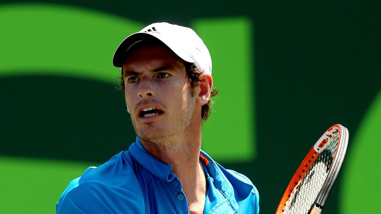 Andy Murray: The British No 1 is reportedly suffering from a stomach bug