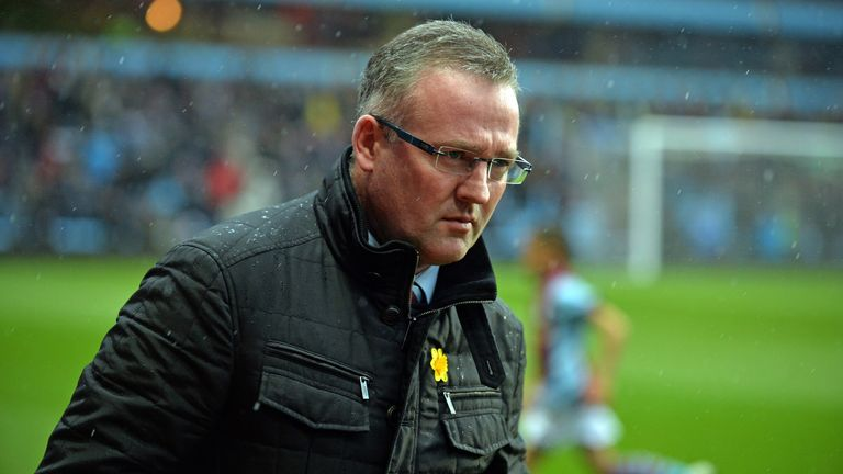 Paul Lambert: Aston Villa manager pleased with side's growth