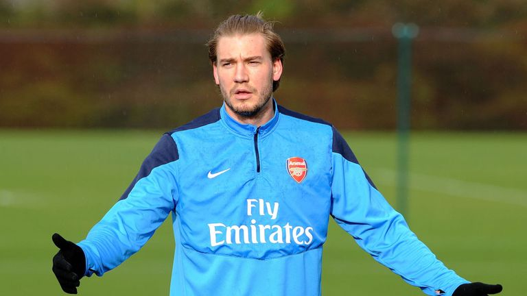 Nicklas Bendtner: Out of contract in the summer