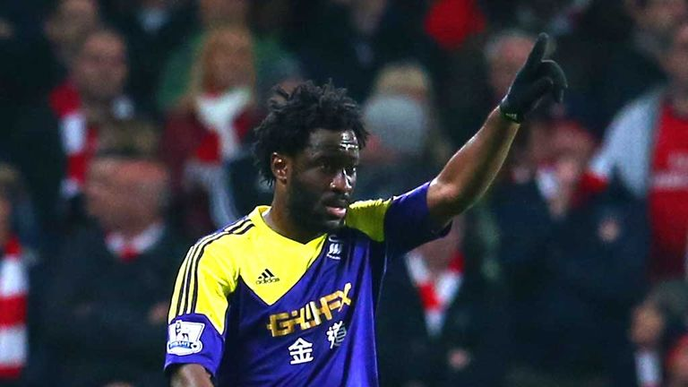 Wilfried Bony: Ivory Coast striker expected back at Swansea