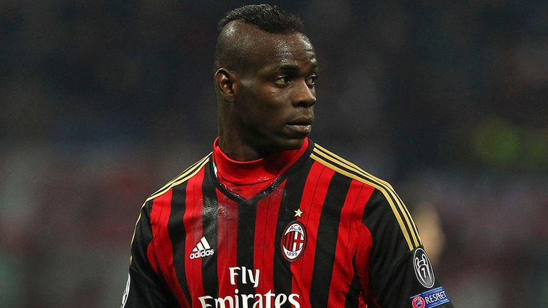 Mario Balotelli: Valued at AC Milan, says CEO Adriano Galliani