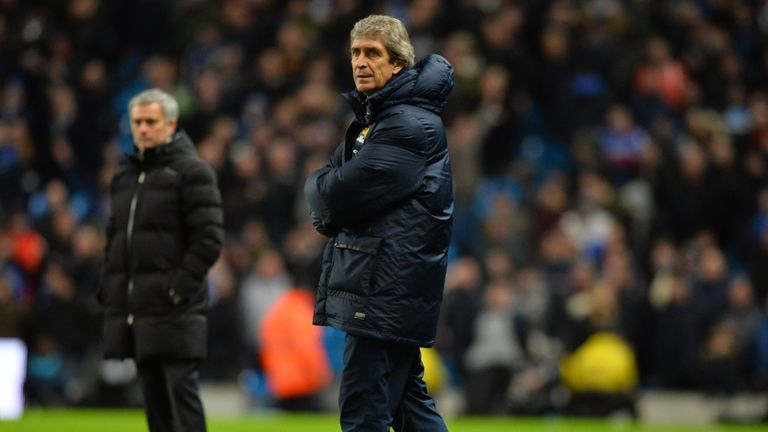 Manuel Pellegrini: Man City boss has criticised Chelsea's style of play
