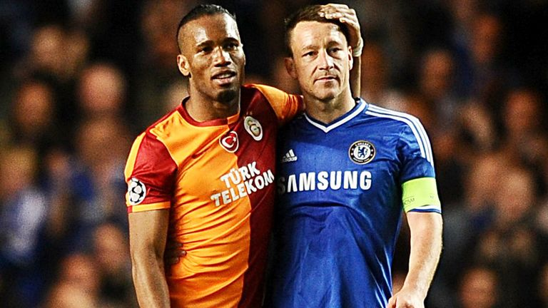 John Terry: Hailed former team-mate Didier Drogba