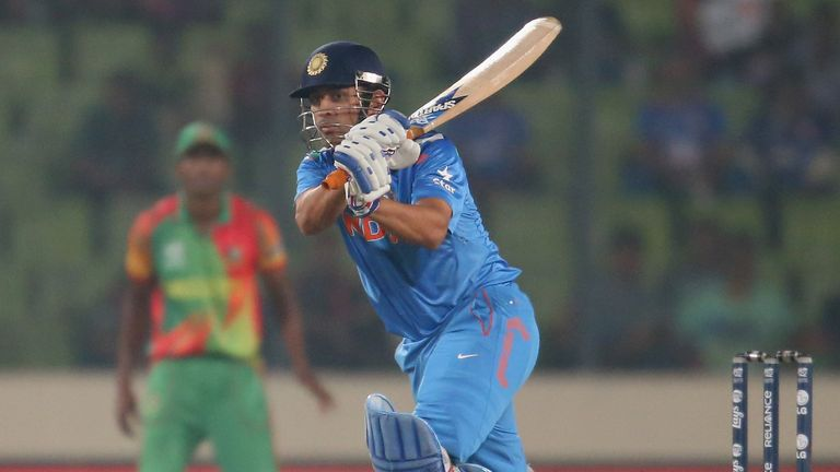 Mahendra Singh Dhoni: India captain to lead youthful one-day squad against England