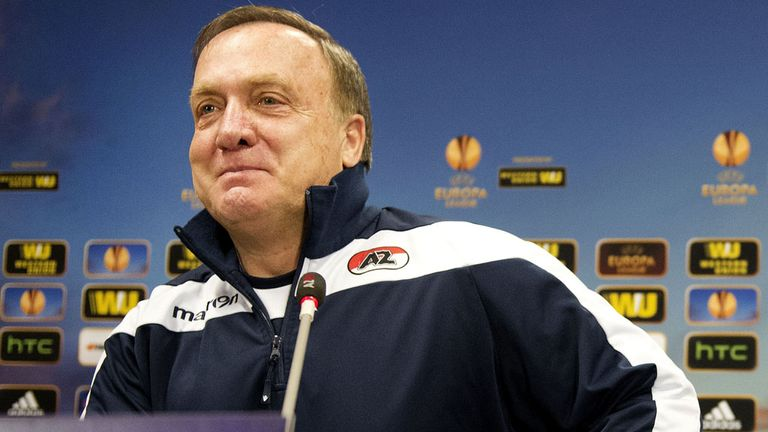 Dick Advocaat: AZ Alkmaar coach happy to be returning to Russia