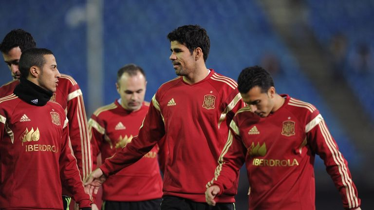Diego Costa: Made his Spain debut against Italy