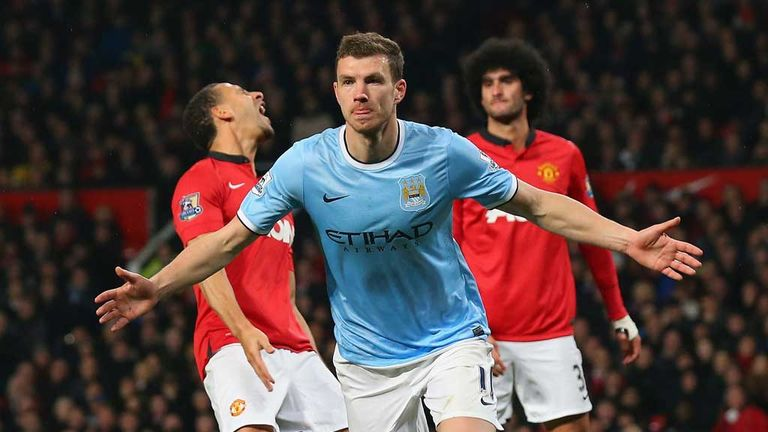 Edin Dzeko: Manchester City striker determined to win final two games