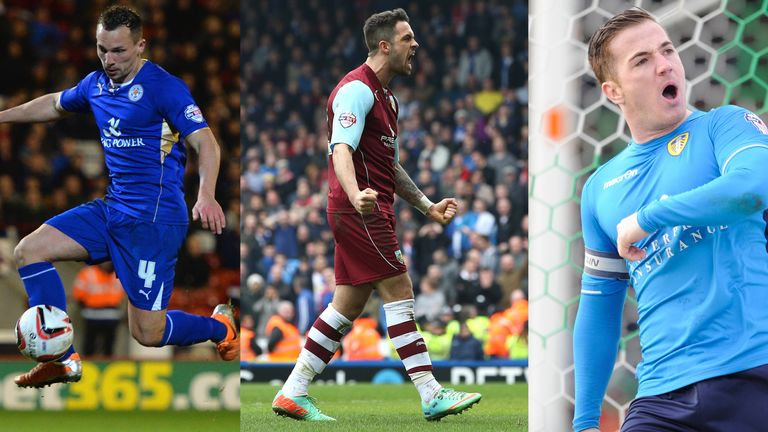 Danny Drinkwater, Danny Ings and Ross McCormack: In the frame for award