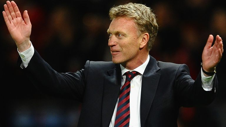 A upbeat David Moyes enjoyed arguably his best week as manager of Manchester United