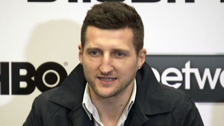 Carl Froch: Believes a British referee should oversee the rematch