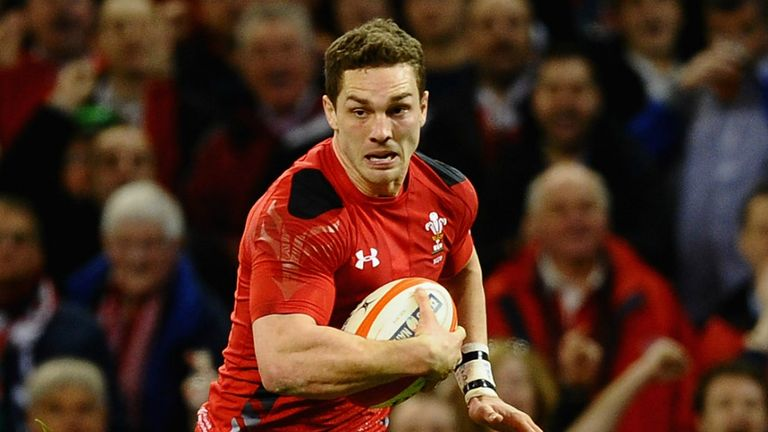 George North: Is fit for the first Test against South Africa