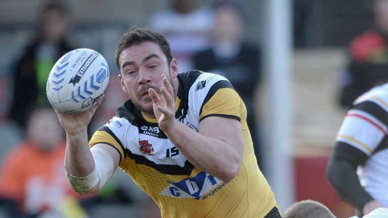 Grant Millington: Ruled out of Challenge Cup semi-final