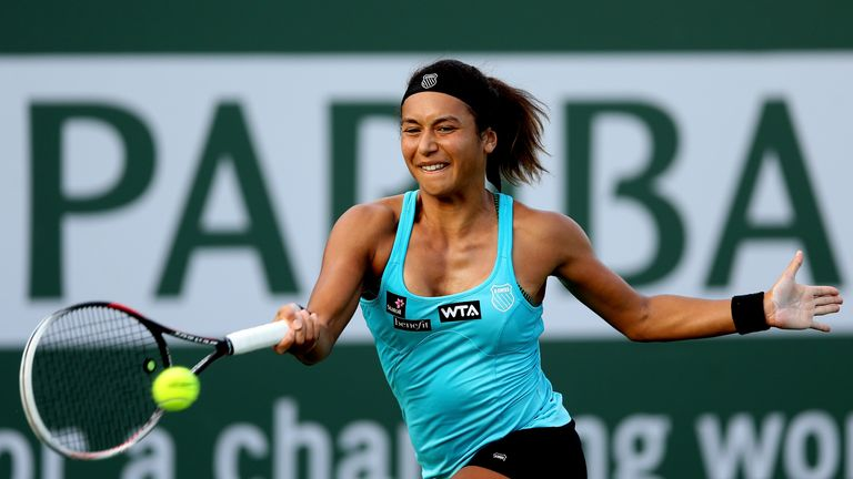 Heather Watson: Beat Giulia Gatto-Monticone in Cagnes-sur-Mer