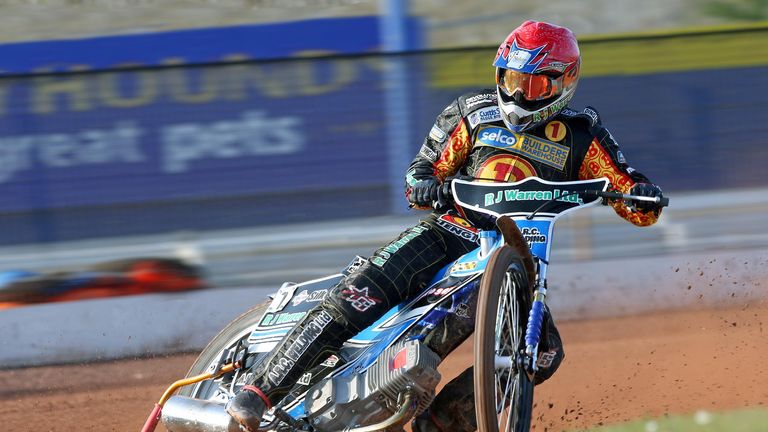 Danny King: Back to lead Birmingham Brummies (Picture credit Jeff Davies)