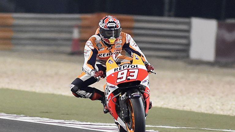Marc Marquez: Reigning champion starts Qatar GP on pole