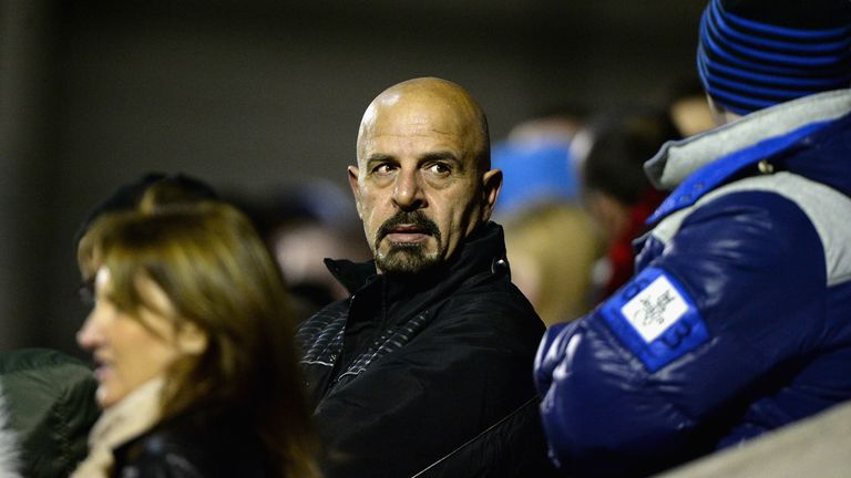Marwan Koukash: Salford chairman ready to ring changes to backroom staff