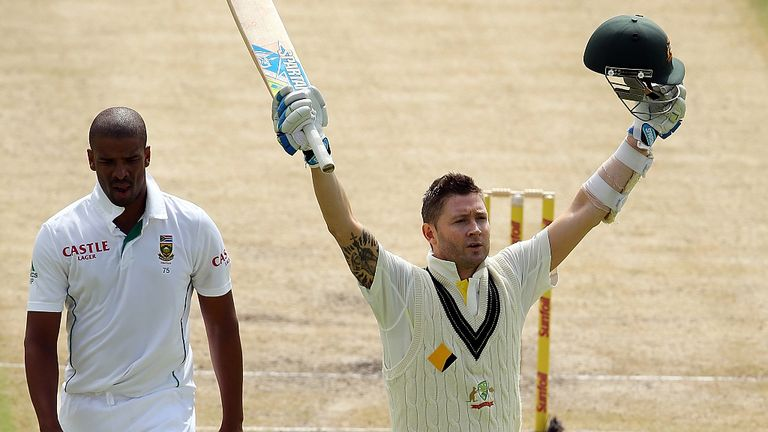 Michael Clarke: his 27th Test century