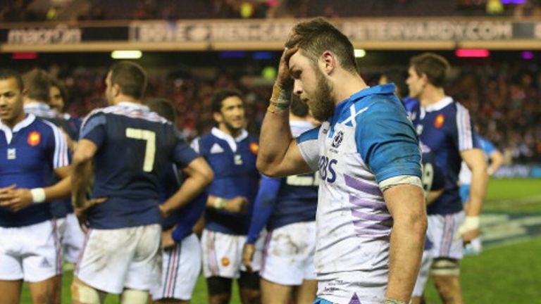 Scotland in despair after France's last-gasp victory