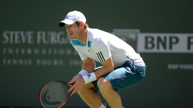 Andy Murray: Expressed concerns over his form after defeat to Milos Raonic