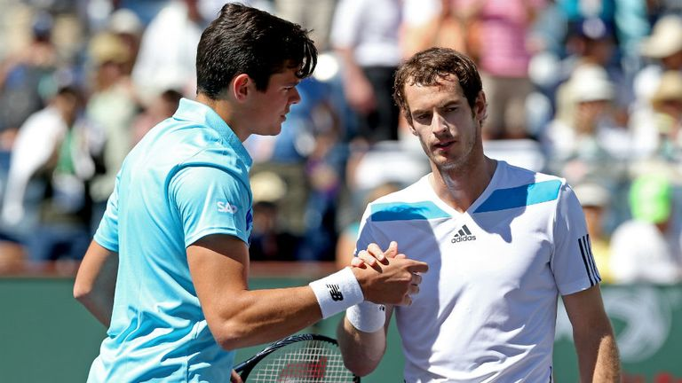 Andy Murray: Beaten in three sets by Milos Raonic at Indian Wells