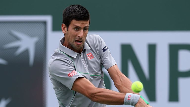 Novak Djokovic: Overcame a brief scare to win through