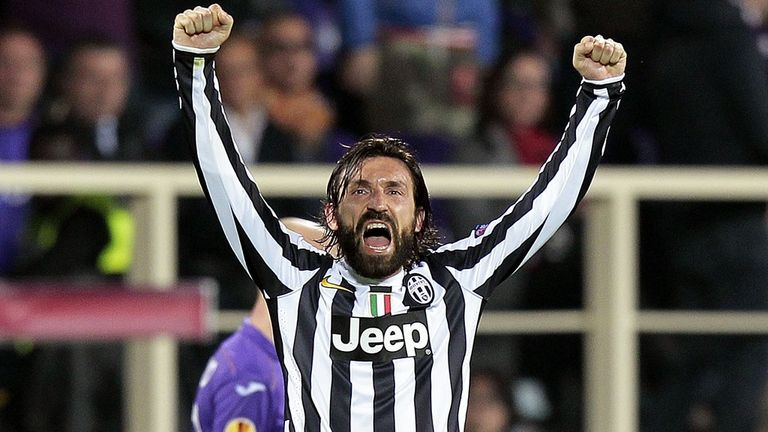 Andrea Pirlo: Scored twice over the two legs
