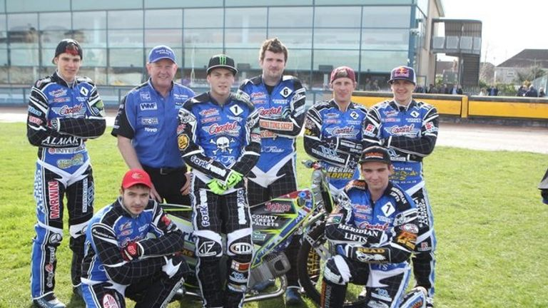 Poole Pirates Speedway Team (Picture credit speedwayprint)