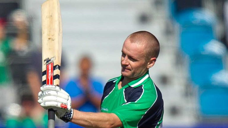 Will Porterfield: Nervy finish for Ireland captain
