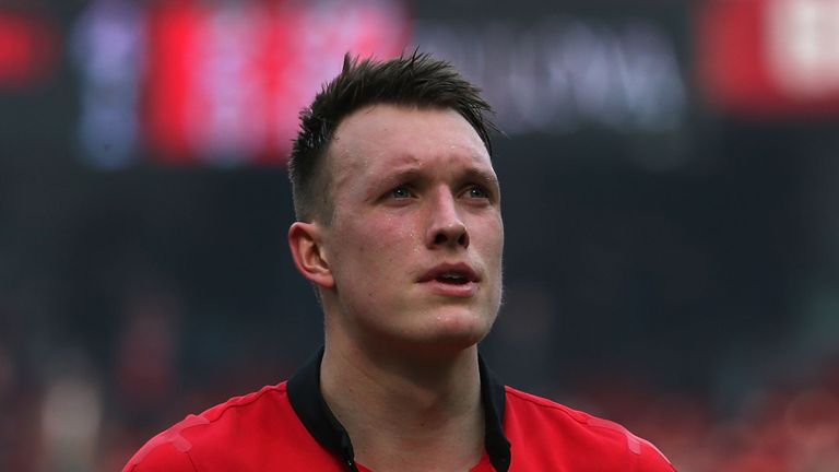 Phil Jones: Manchester United defender says players take responsibility