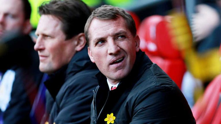 Brendan Rodgers: Believes his side are heading towards the title