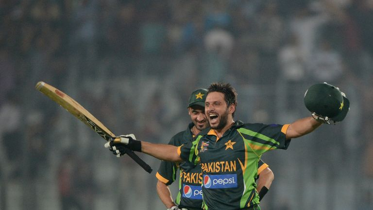 Shahid Afridi: Led Pakistan to a thrilling win over Inda in Asia Cup