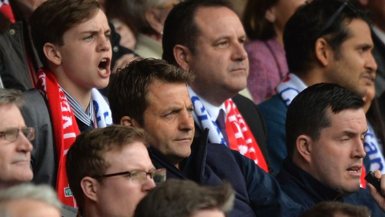 Tim Sherwood: Watched the entire defeat at Liverpool from the stands