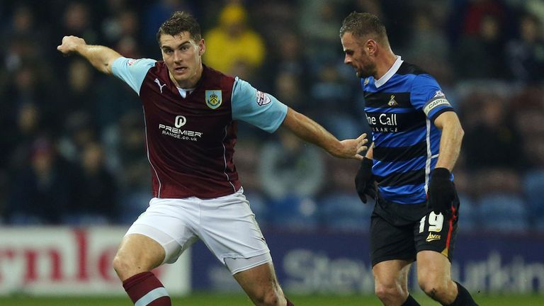 Vokes: the Burnley hotshot has grown under Dyche, says Beags